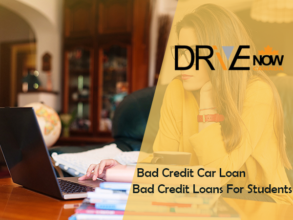 bad credit car loans for students